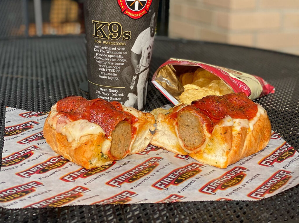 Firehouse Subs new Pepperoni Pizza Meatball Sub