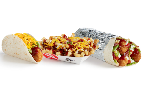 New Honey Chipotle BBQ sauce hits Del Taco dishes