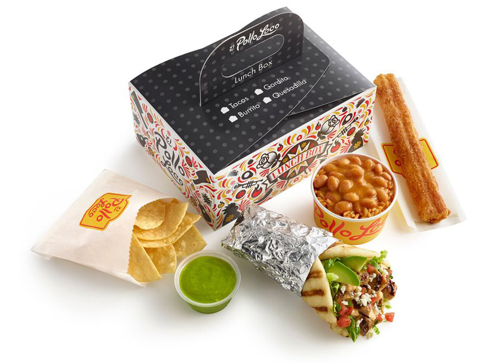 Loco Lunch Boxes at El Pollo Loco