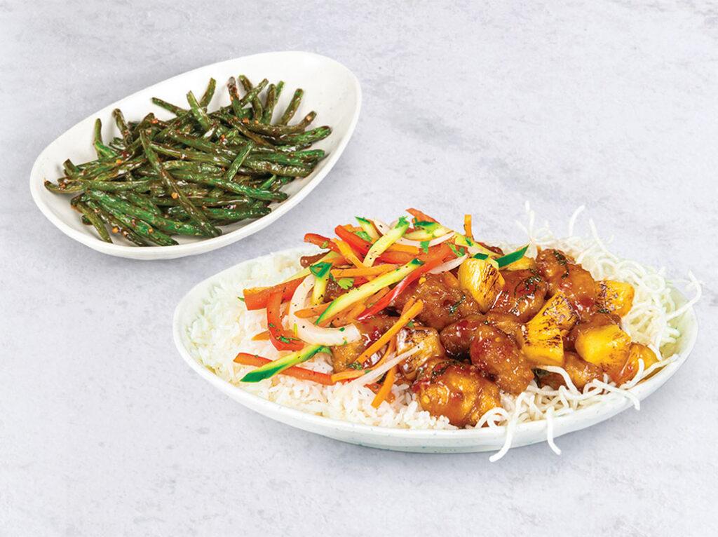 Pei Wei - new green beans chicken