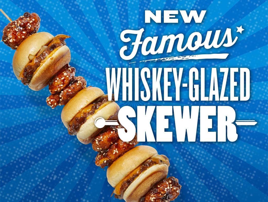 TGI Fridays Whiskey Glazed Skewer