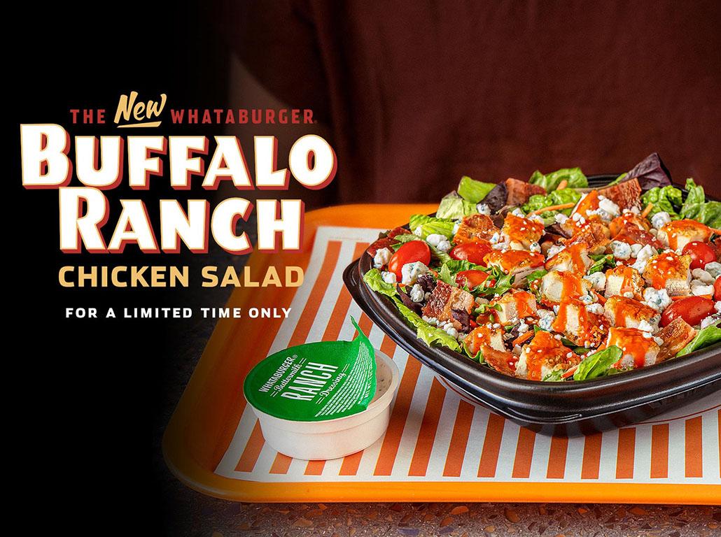 Whataburger serves up new Buffalo Ranch salad