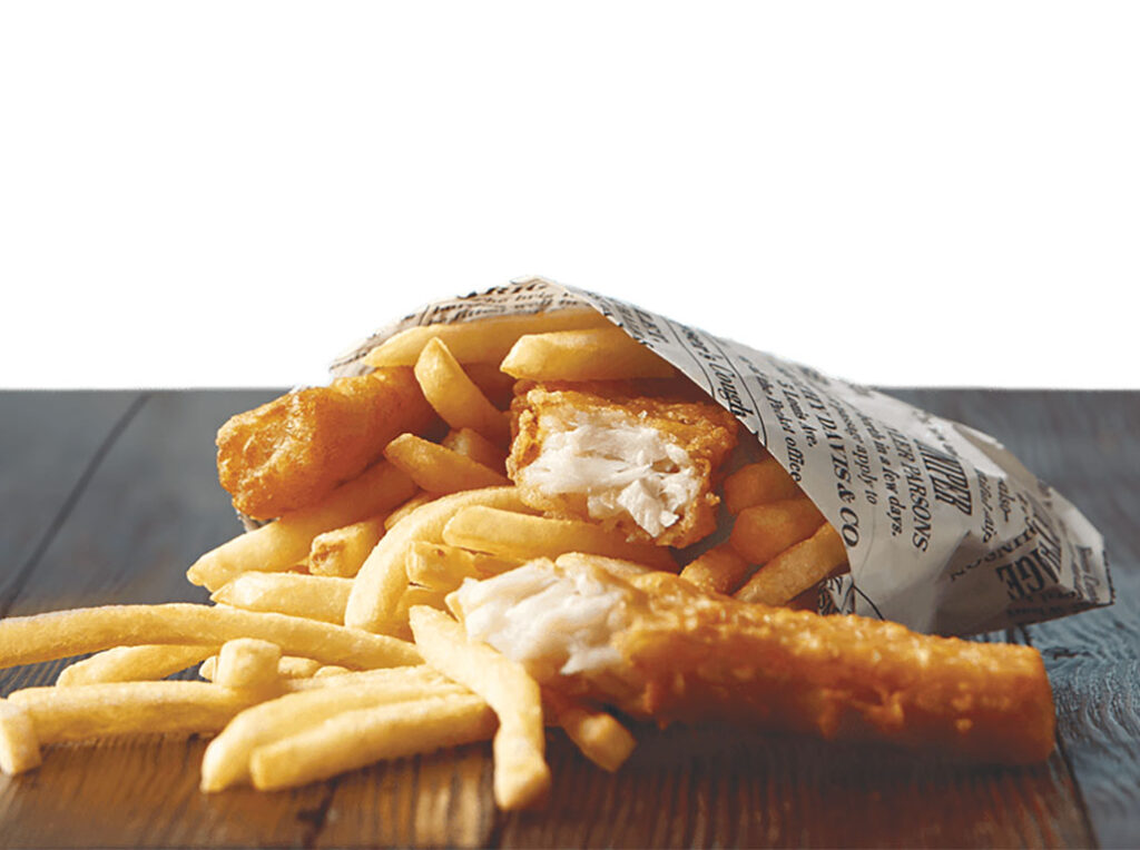 Wienerscnitzel Fish and Chips