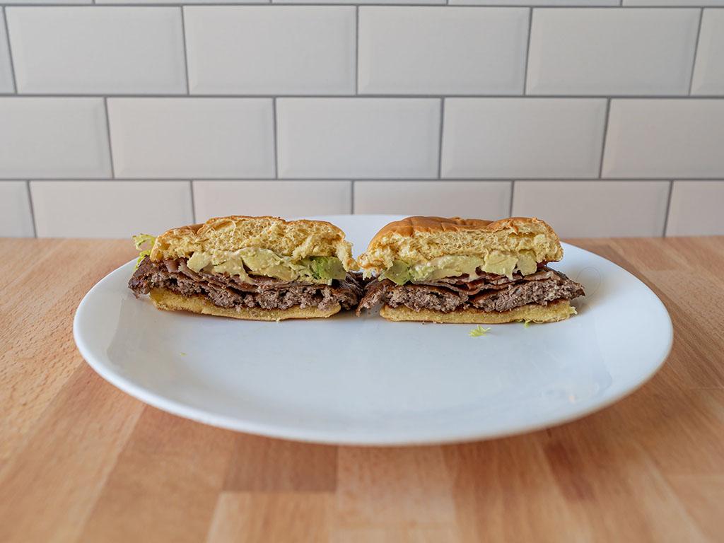 Avocado Bacon Burger interior