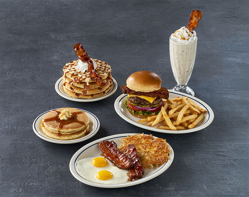 IHOP steakhouse bacon