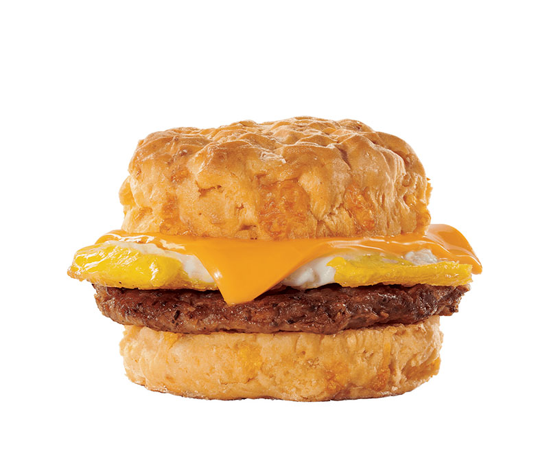 Jack In The Box - sausage cheddar biscuit
