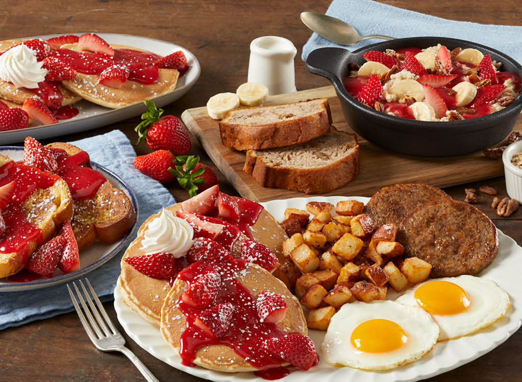 Bob Evans new Farm Fresh Berry dishes