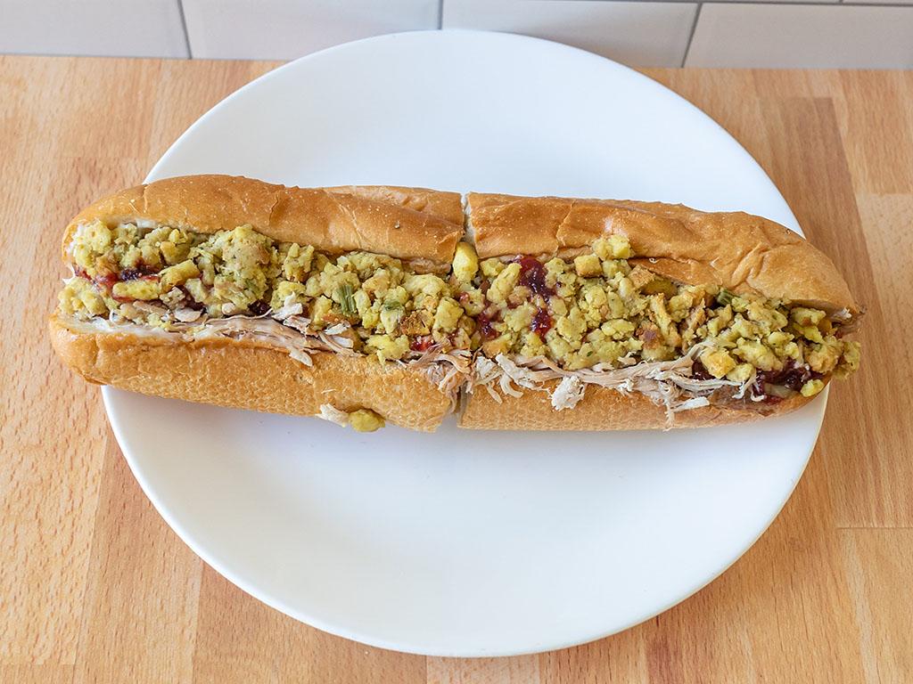 Capriotti's - Bobbie sandwich 10 inch close up