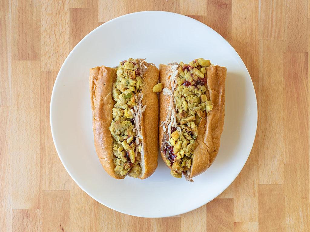 Capriotti's - Bobbie sandwich two halves top down
