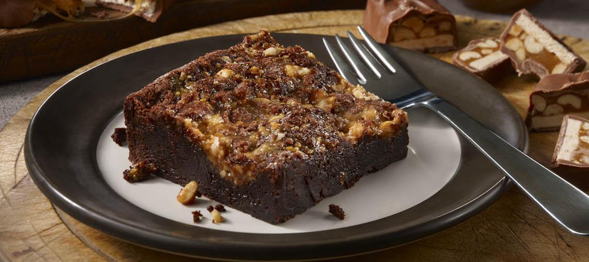Dickey's Caramel Crunch Brownie