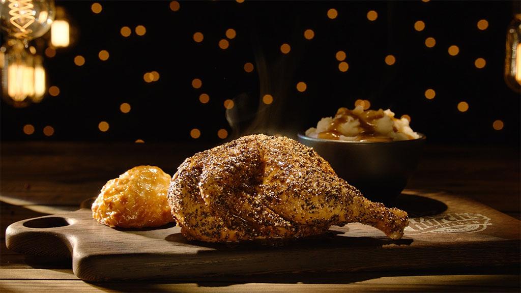 Church's Bourbon Black Pepper Smokehouse Chicken.