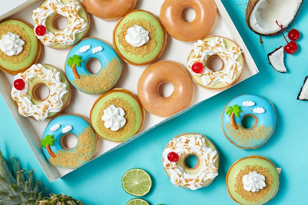 Krispy Kreme's new tropical flavors
