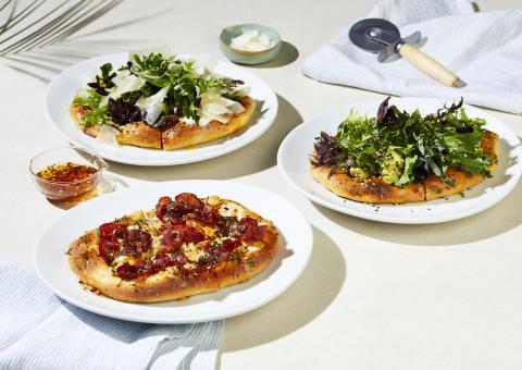 California Pizza Kitchen add California foccacias