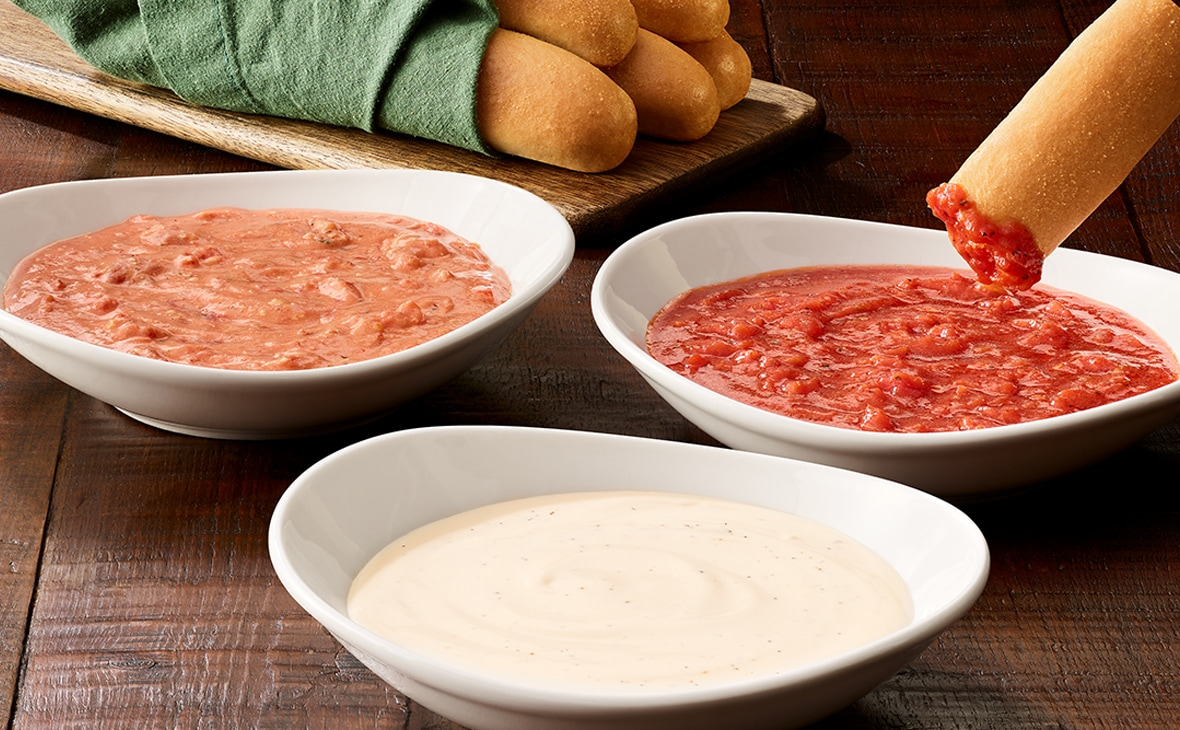 Olive Garden Never Ending Dipping Sauces