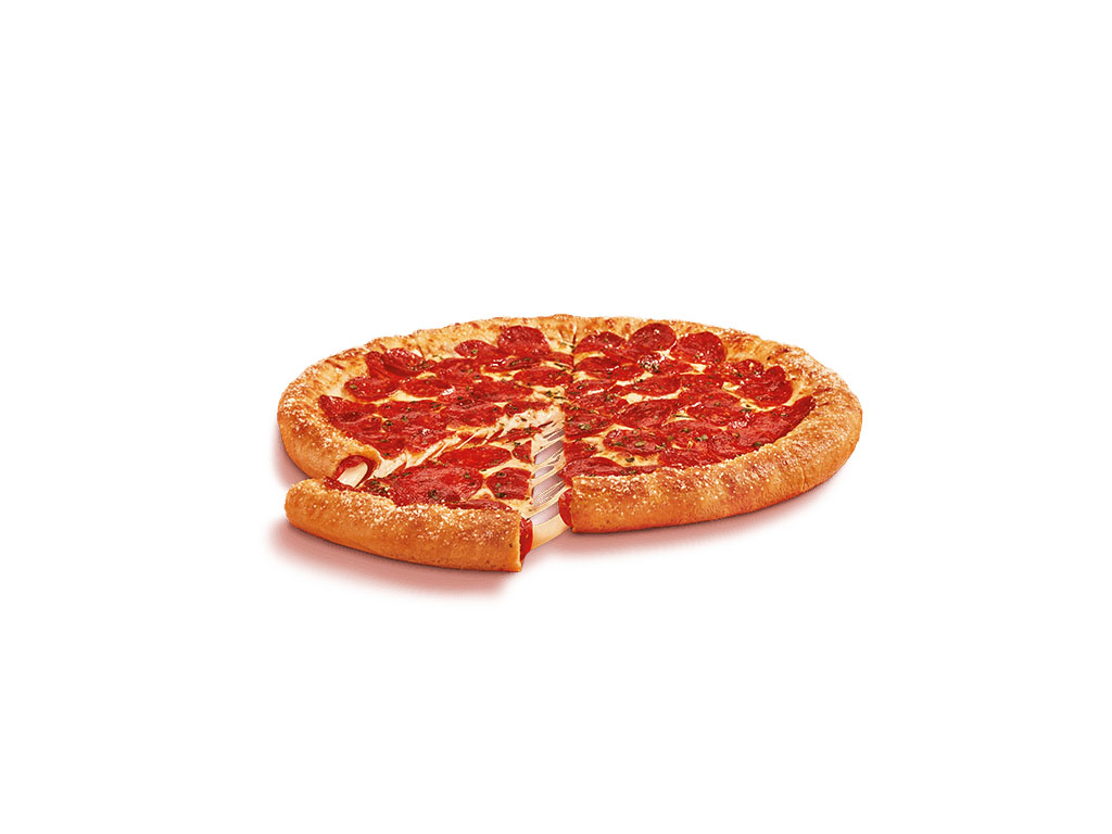 LIttle Caesars - Pepperoni and Cheese Stuffed Crust Pizza