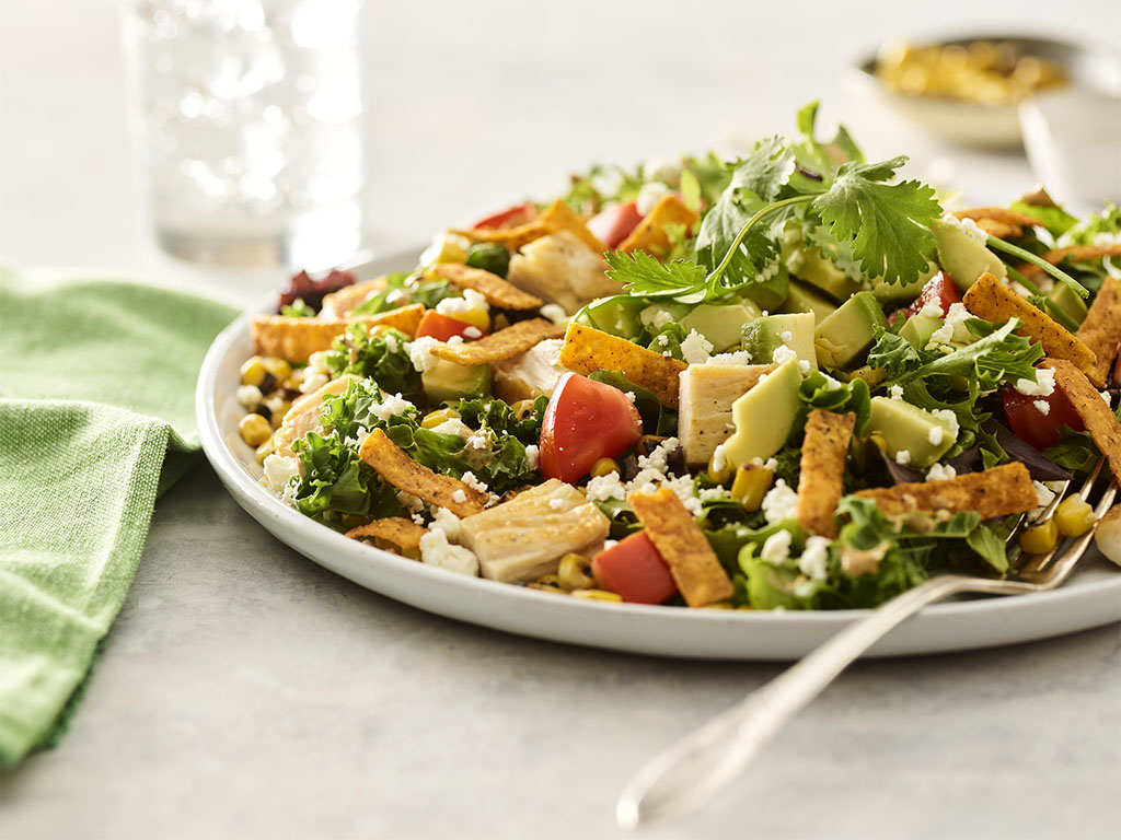 New salad test at Noodles and co
