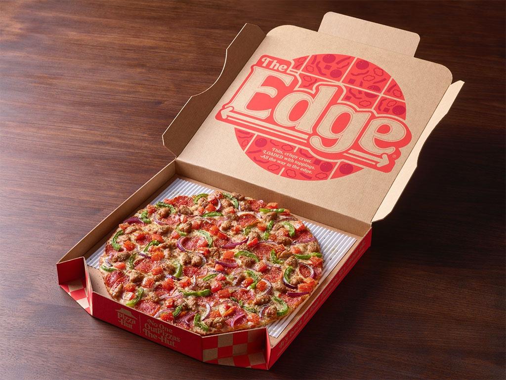 Pizza Hut - The Edge pizza