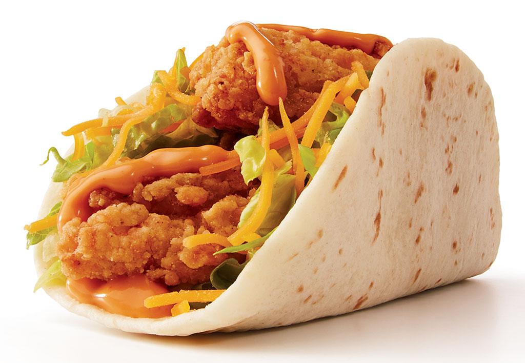 Taco John's Fried Chicken Taco