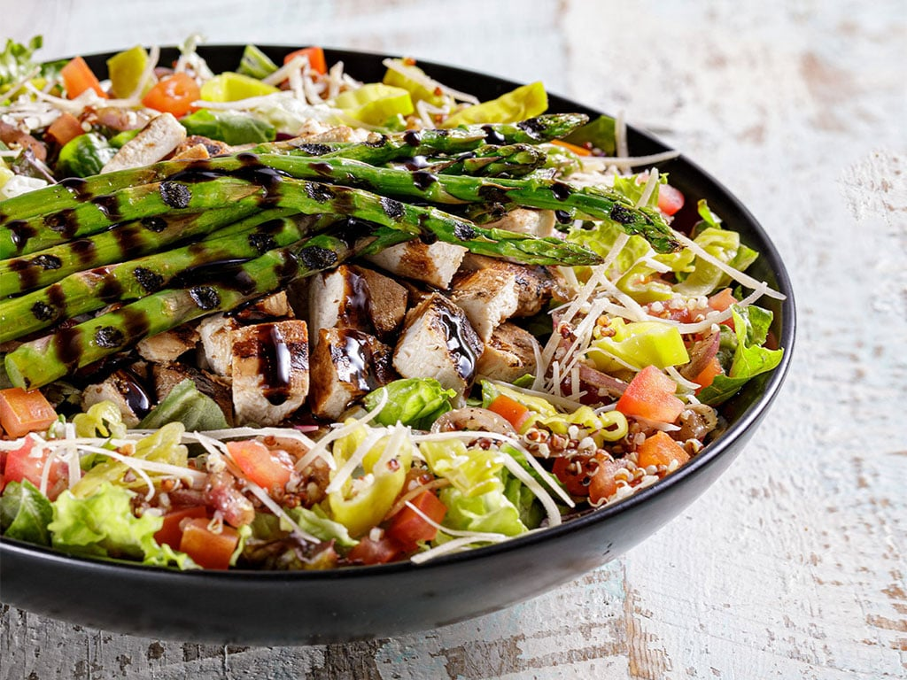 The Habit burger - Balsamic Grilled Chicken and Asparagus Salad