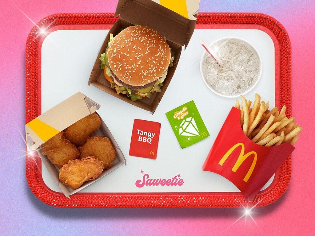 McDonald's - The Saweetie Meal