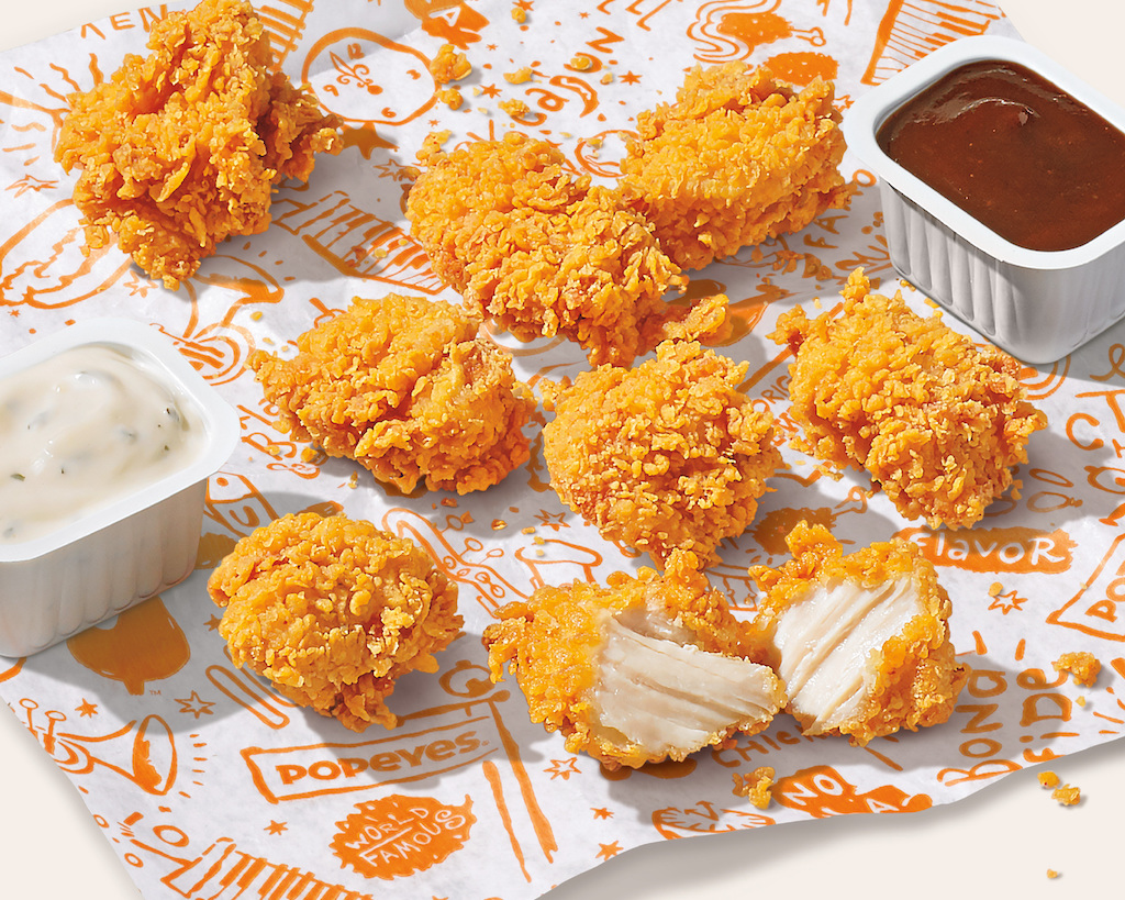 Popeyes new nuggets