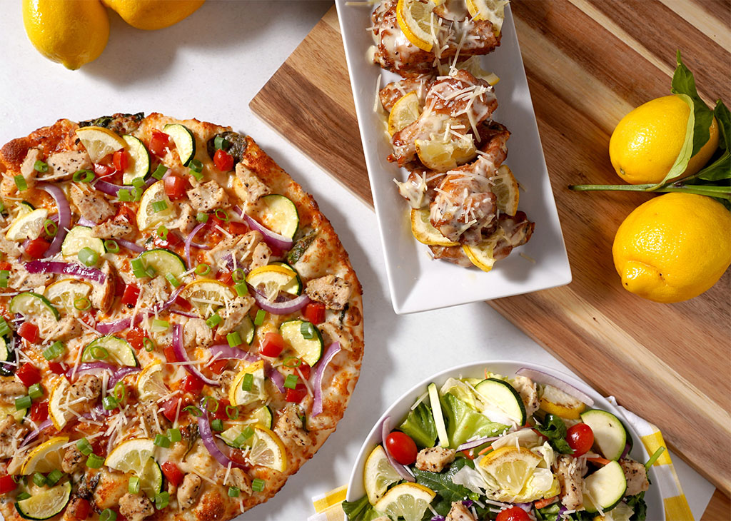 Round Table PIzza - Charred Lemon Chicken