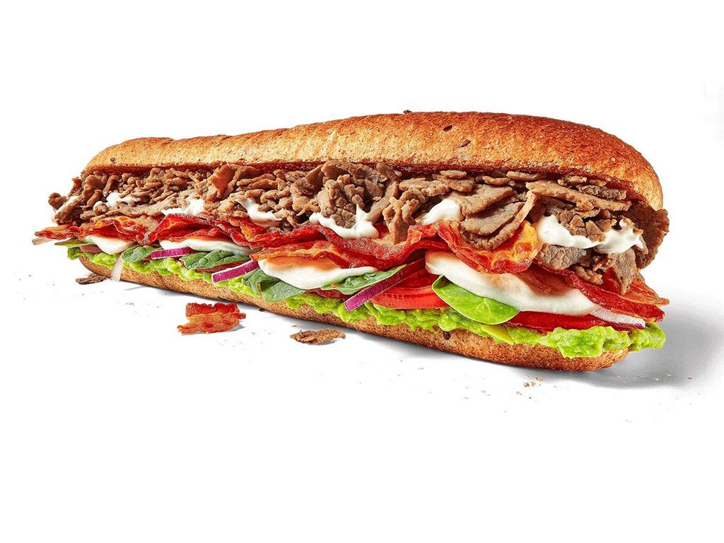 Subway - Cali Fresh Steak Sandwich