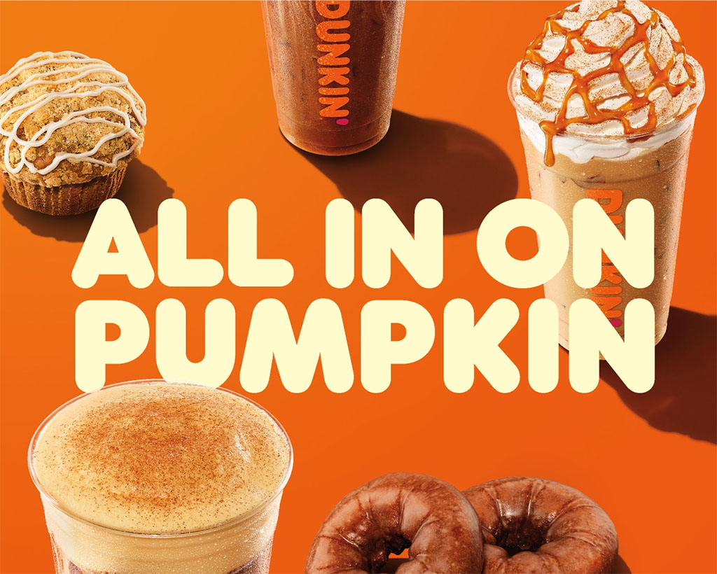 Dunkin's 2021 Fall beverage lineup