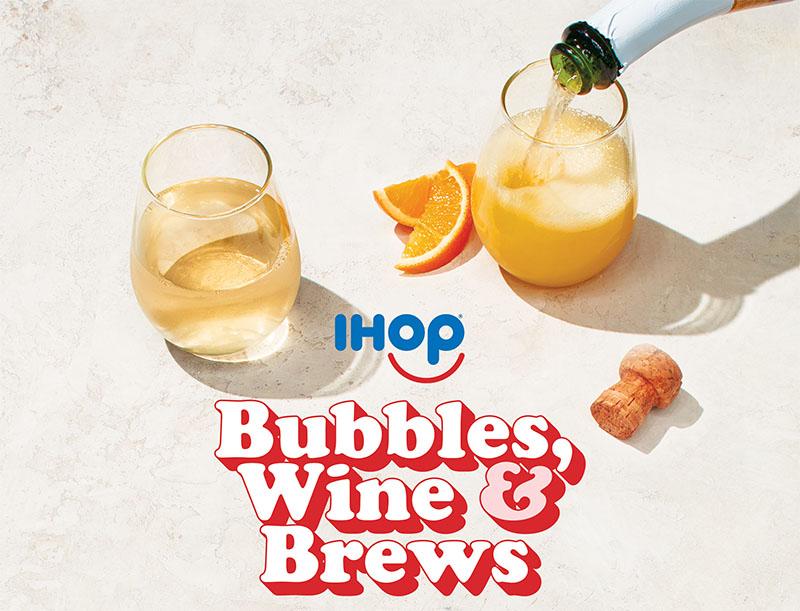 IHOP adds alcohol to menus