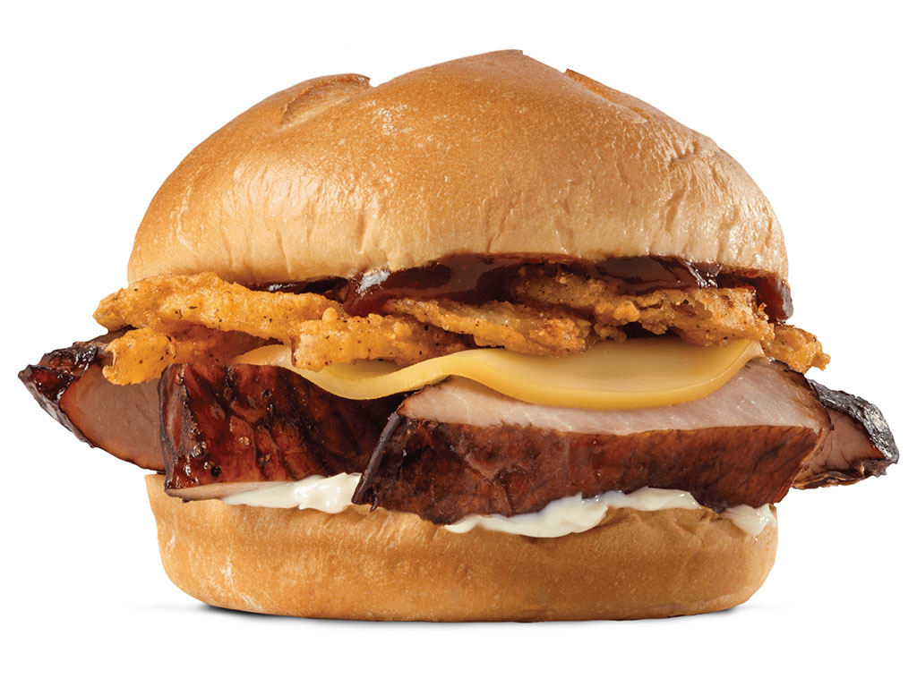 Arby's Country Style Rib Sandwich