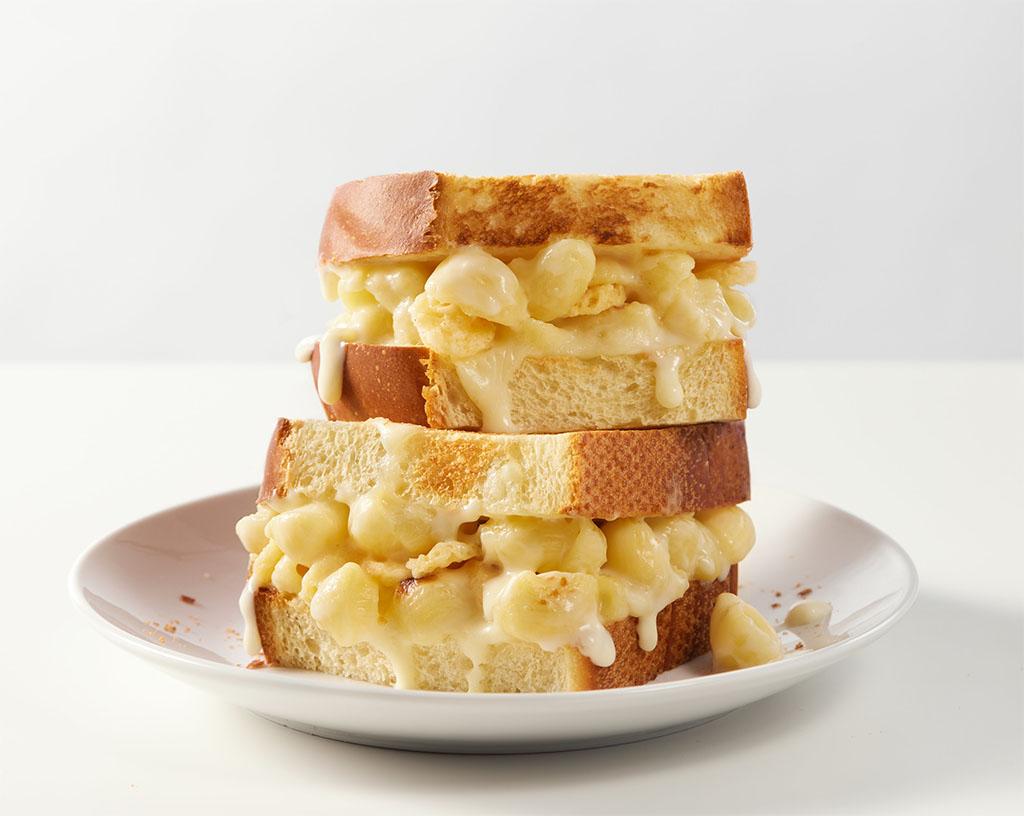 Panera - Mac N Cheese Sandwich