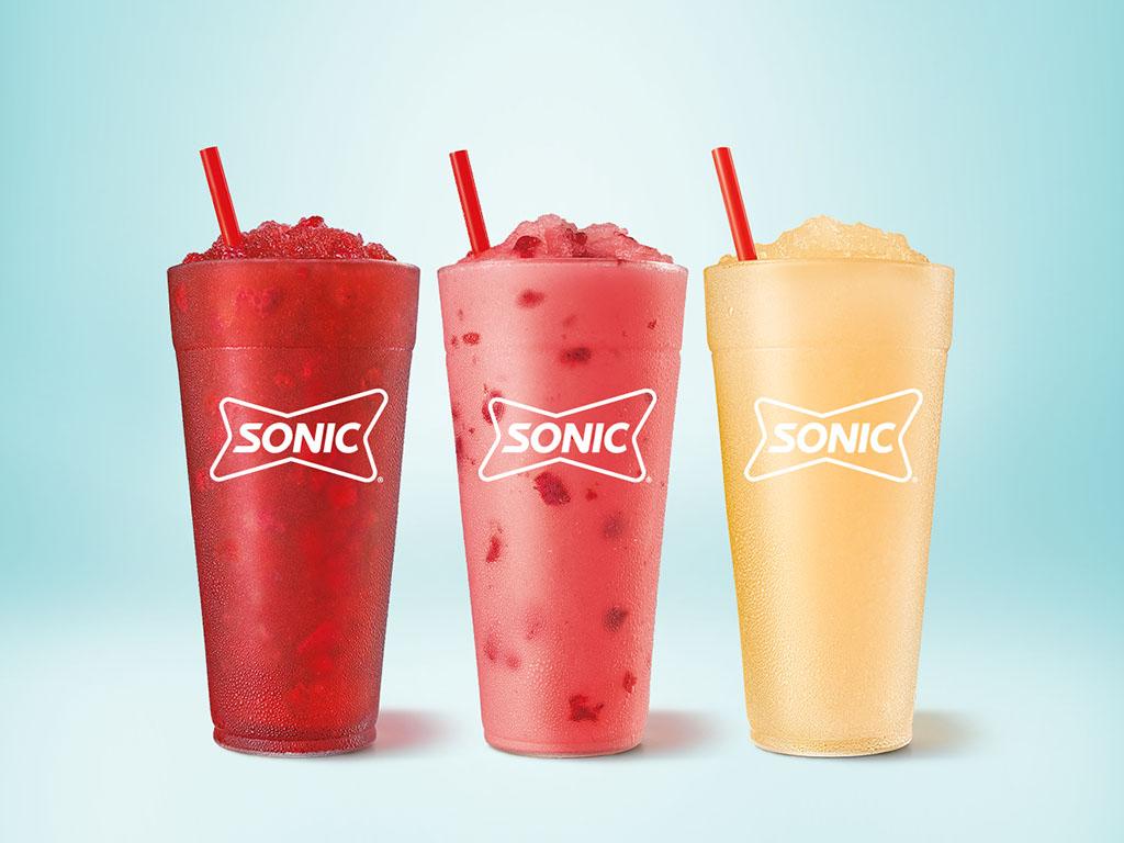 SONIC Uncorked Slushes