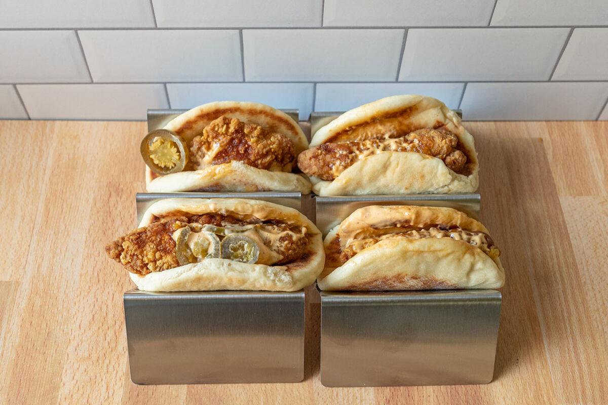 Taco Bell's Crispy Chicken Sandwich Tacos