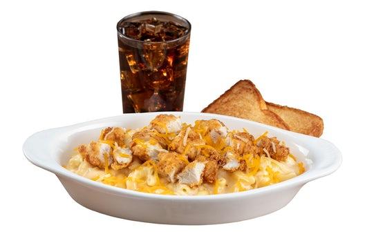 Slim Chickens Tender Mac & Cheese bowl