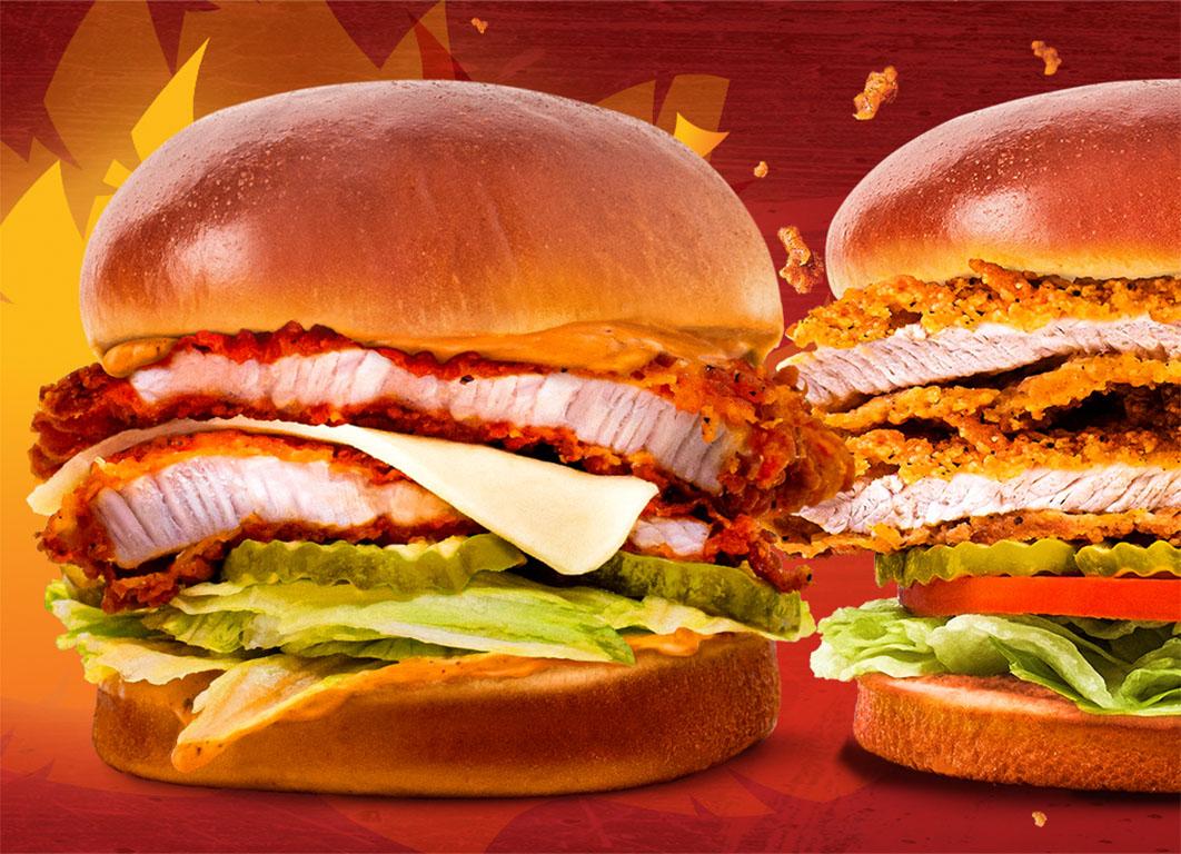 PDQ - Turkey sandwiches