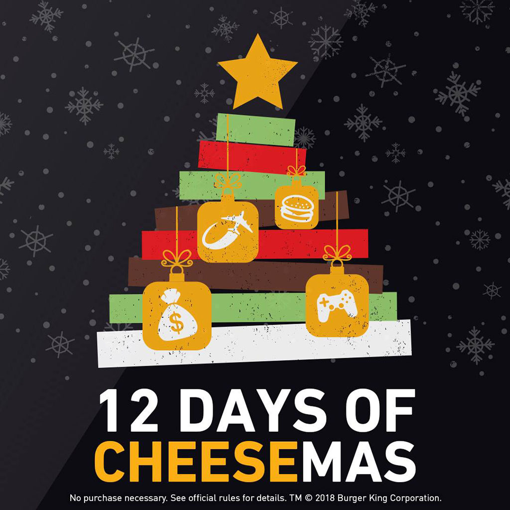 12 Days Of Cheesemas (Burger King)