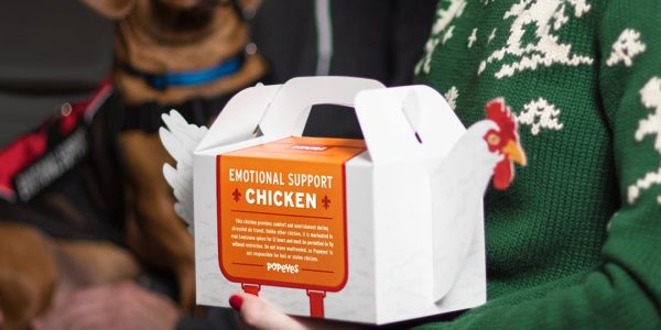 Emotional Support Chicken (Popeye's)