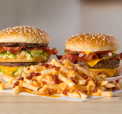 Big Mac Bacon, Quarter Pounder Bacon and Cheesy Bacon Fries (McDonald's)