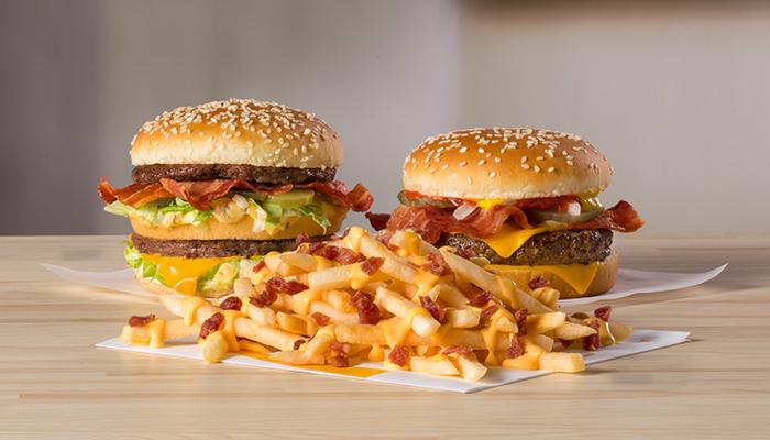 Big Mac Bacon, Quarter Pounder Bacon and Cheesy Bacon Fries (McDonald's)