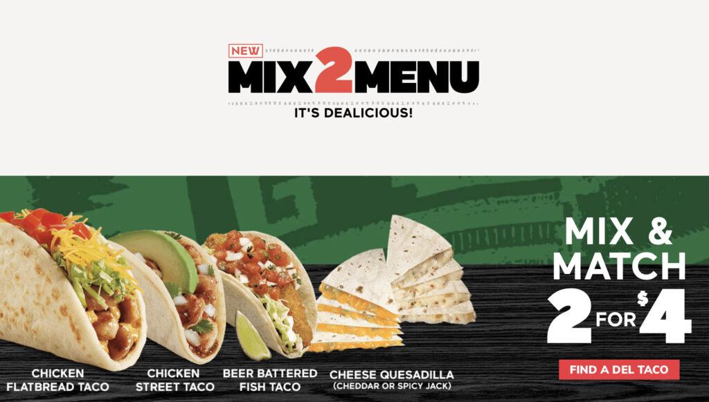 Del Taco Mix2Menu (Del Taco)